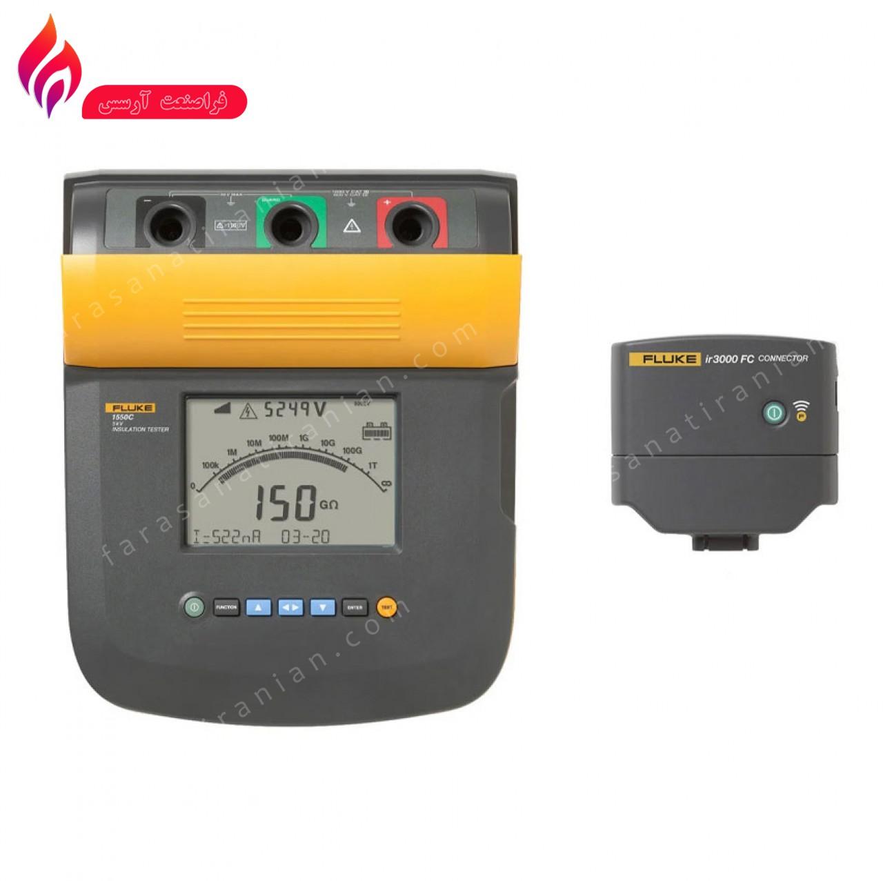 تستر عایق 5 کیلو ولت FLUKE 1550C