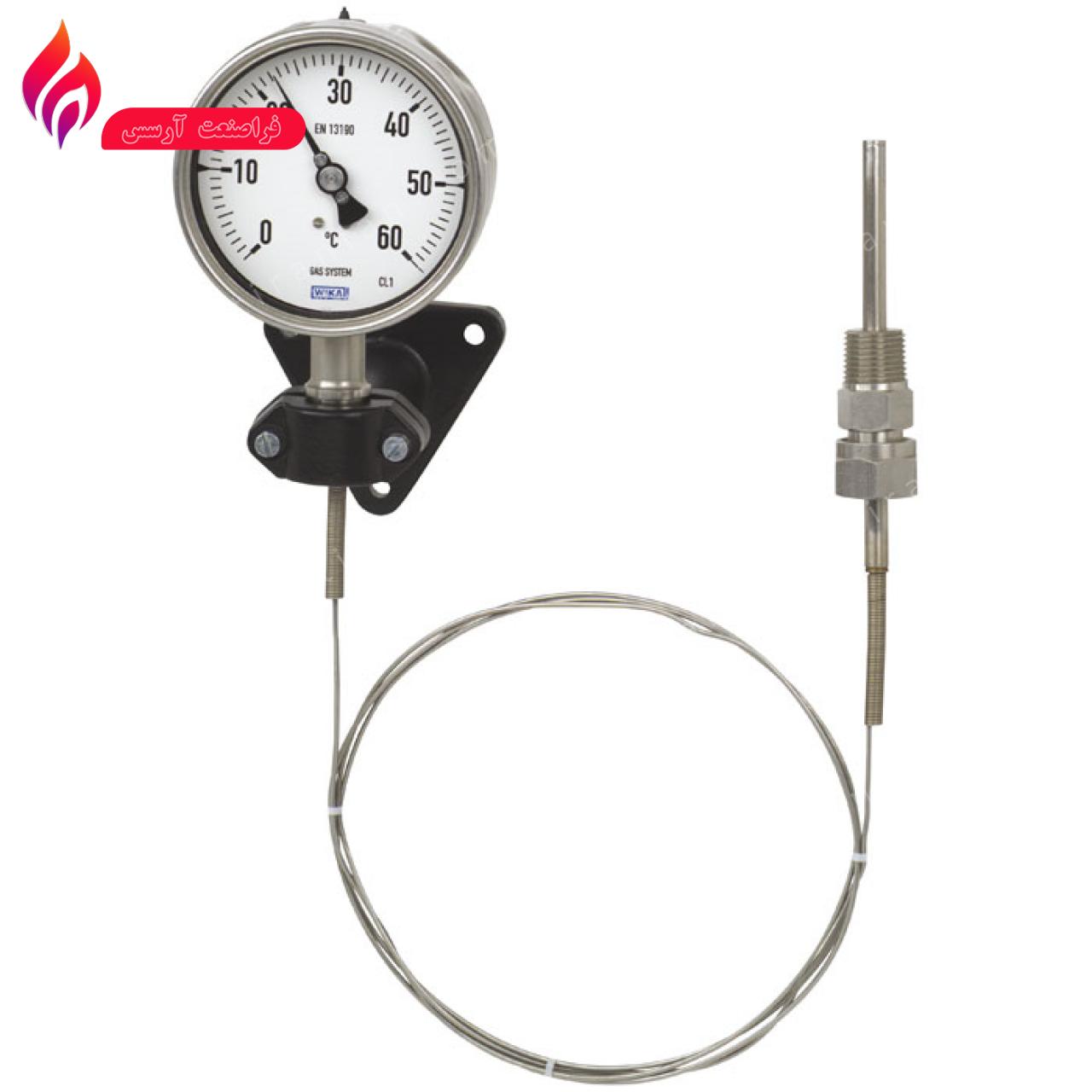 گیج دما (ترمومتر گاز اکچوئیتد) ویکا مدل  F73