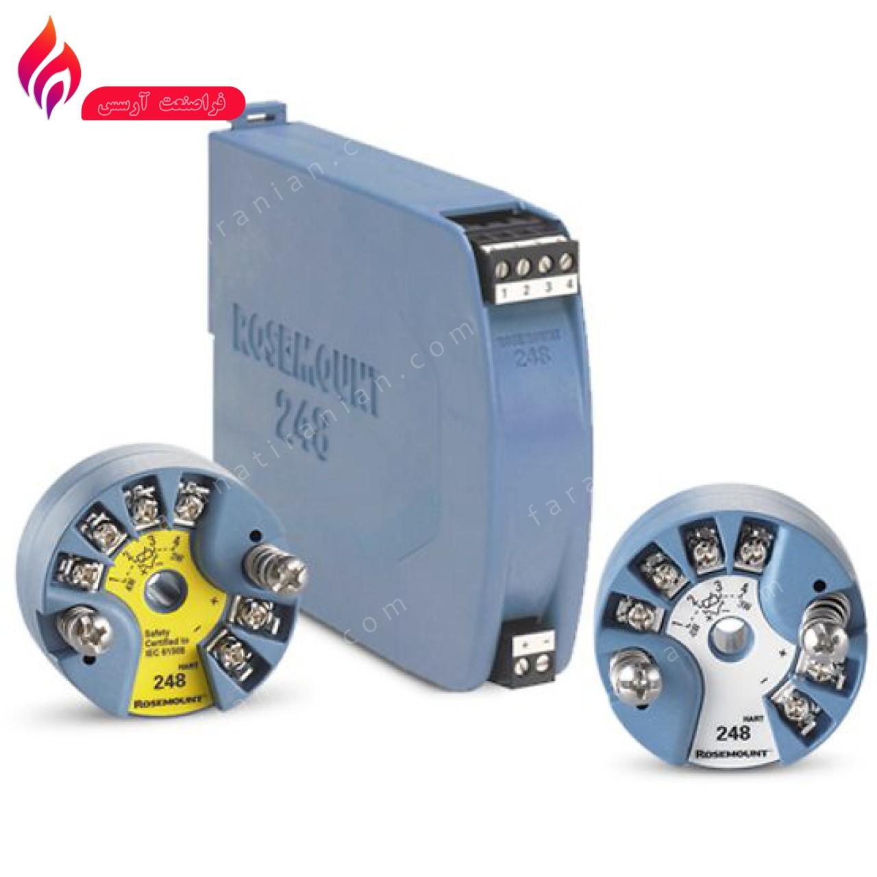 ترانسمیتر دما روزمونت مدل 248H