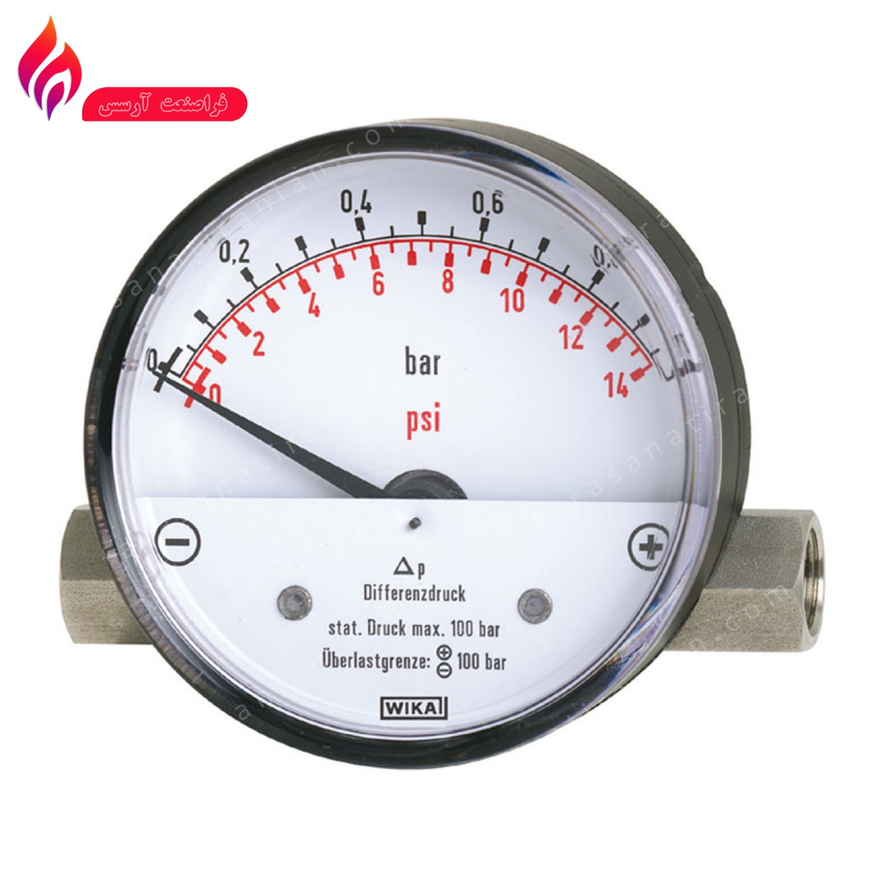 گیج اختلاف فشار ویکا 700.01